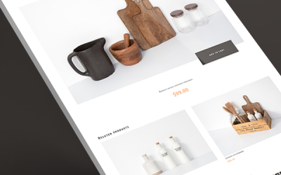 Kitchenware Products Template